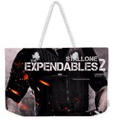 The Expendables 2 Stallone Weekender Tote Bag
