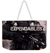 The Expendables 2 Statham Weekender Tote Bag