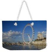 The Eye In London Weekender Tote Bag