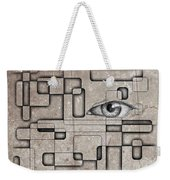 The Eye Of Big Brother Weekender Tote Bag by John Malone