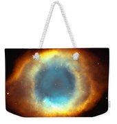 The Eye Of God-helix Nebula Close Up Weekender Tote Bag