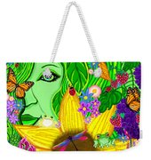 The Eye Of Mother Nature Weekender Tote Bag
