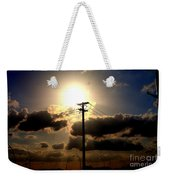 The Eye Of The Evening Sun Weekender Tote Bag