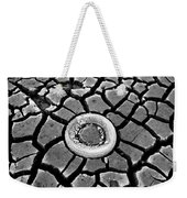 The Eye Of The Lake Black And White Weekender Tote Bag