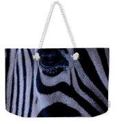 The Eye Of The Zebra Weekender Tote Bag