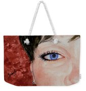 The Eyes Have It - Nicole Weekender Tote Bag