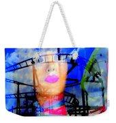 The Eyes Of Miss Coney Island Weekender Tote Bag