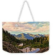 The Eyes Of The Mountain. Weekender Tote Bag
