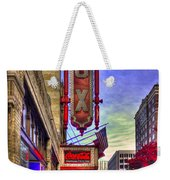 The Fabulous Fox Atlanta Georgia. Weekender Tote Bag