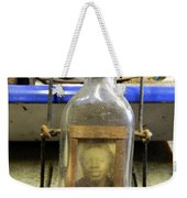The Face In The Bottle  Weekender Tote Bag