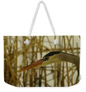 The Face Of A Heron Weekender Tote Bag