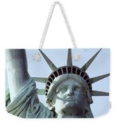 The Face Of Liberty  Weekender Tote Bag