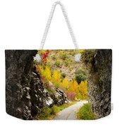 The Fall Cave Weekender Tote Bag