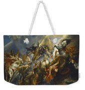 The Fall Of Phaeton Weekender Tote Bag by  Peter Paul Rubens