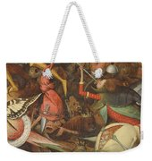 The Fall Of The Rebel Angels, 1562 Oil On Panel Detail Of 74037 Weekender Tote Bag