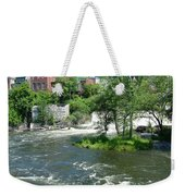 The Falls In Middlebury Weekender Tote Bag