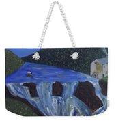 The Falls Of Cenarth Weekender Tote Bag