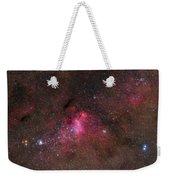 The False Comet Cluster In Scorpius Weekender Tote Bag