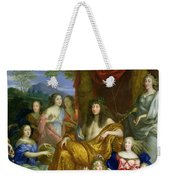 The Family Of Louis Xiv 1638-1715 1670 Oil On Canvas Detail Of 60094 Weekender Tote Bag