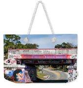 The Famous Graffiti Bridge Weekender Tote Bag