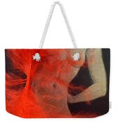 The Fan Dancer  Weekender Tote Bag