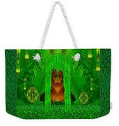 The Fantasy Girl In The Fauna  Weekender Tote Bag