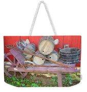 The Farmer's Old Wheelbarrow Weekender Tote Bag