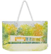 The Farnsworth House Weekender Tote Bag