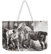 The Farrier, From Etudes De Cheveaux Weekender Tote Bag