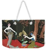 The Fashion For Lacquer Weekender Tote Bag