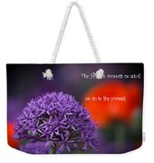The Feature Weekender Tote Bag