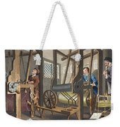 The Fellow Prentices At Their Looms Weekender Tote Bag