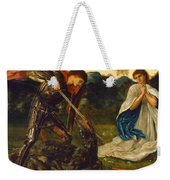 The Fight. St George Kills The Dragon Vi Weekender Tote Bag