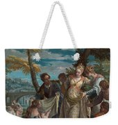 The Finding Of Moses Weekender Tote Bag