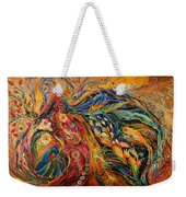 The Fire Dance Weekender Tote Bag