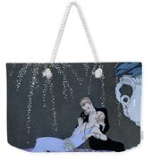 The Fire Weekender Tote Bag by Georges Barbier