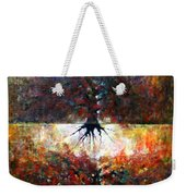 The Fire Of Forest-the Fire Of Heart Weekender Tote Bag