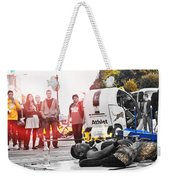 The Fire Untachable Weekender Tote Bag