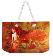 The Fire Within Weekender Tote Bag by Jacky Gerritsen