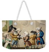 The First Approach, C.1790 Weekender Tote Bag