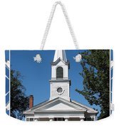 The First Church Of Evans In New York State Weekender Tote Bag