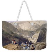 The First Descent Through The Koojah Weekender Tote Bag