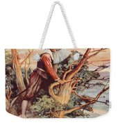 The First Englishman To See The Pacific Weekender Tote Bag