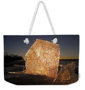The First Ice ... Weekender Tote Bag