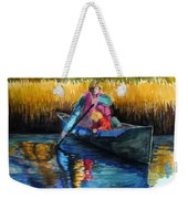 The First Mate Weekender Tote Bag by Lenore Gaudet