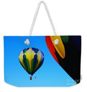 The First One Up  Weekender Tote Bag by Jeff Swan