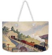 The First Paris To Rouen Railway, Copy Weekender Tote Bag