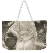 The First Whisper Of Love After Bouguereau Weekender Tote Bag