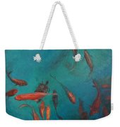 the Fish of Cabo Weekender Tote Bag