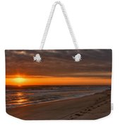 The Fisherman's Golden Hour Weekender Tote Bag